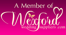 A Member of Wexford Wedding Suppliers